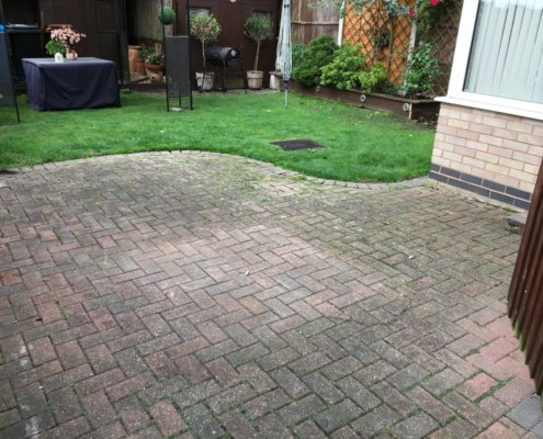 Transformation of Driveway and Patio Kirk Hallam Ilkeston