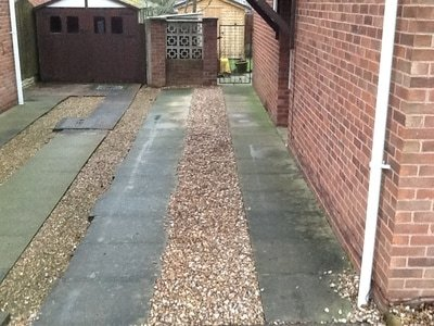 remove old driveway