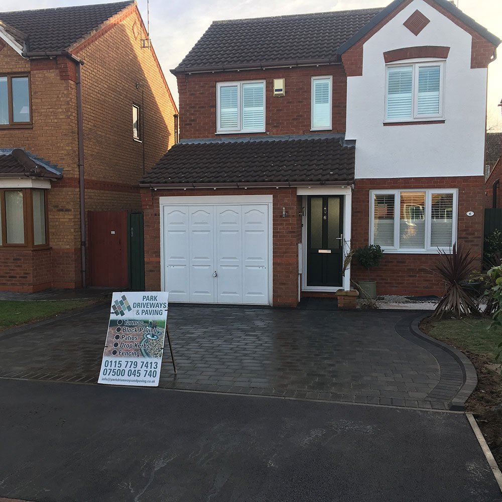 block paved driveways nottingham