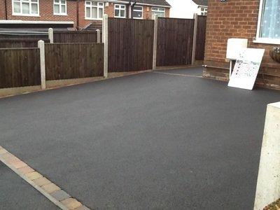 Tarmac Driveway Installation & Drop Kerb Extension Ilkeston Derbyshire